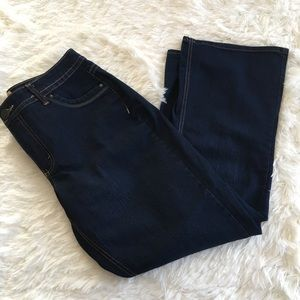 Just My Size Jeans - Just My Size Dark Wash 16 Short Bootleg Jeans